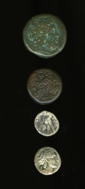 Ancients:Ancient Lots  , Ancients: Lot of four Ptolemaic coins.... (Total: 4 coins)