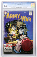 Silver Age (1956-1969):War, Our Army at War #81 (DC, 1959) CGC VG- 3.5 Off-white pages....