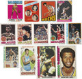 Basketball Cards:Lots, 1969-70 - 1979-80 Large Basketball Card Collection (1,492)...