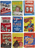 Miscellaneous Collectibles:General, Non-Sports Wax Pack Collection....
