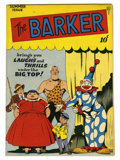 Golden Age (1938-1955):Humor, The Barker #4 Rockford pedigree (Quality, 1947) Condition: VF+....