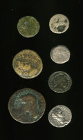 Ancients:Ancient Lots  , Ancients: Lot of seven miscellaneous Roman coins.... (Total: 7coins)