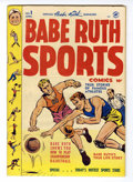Golden Age (1938-1955):Non-Fiction, Babe Ruth Sports Comics #1 (Harvey, 1949) Condition: VG/FN....