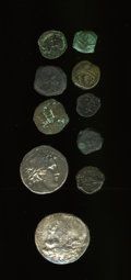 Ancients:Ancient Lots  , Ancients: Lot of ten Biblical and related coins.... (Total: 10 coins)
