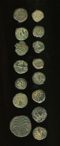 Ancients:Ancient Lots  , Ancients: Lot of fifteen Jewish AE.... (Total: 15 coins)