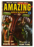 Golden Age (1938-1955):Science Fiction, Amazing Adventures #2 (Ziff-Davis, 1951) Condition: FN+....