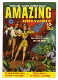 Golden Age (1938-1955):Science Fiction, Amazing Adventures #5 (Ziff-Davis, 1951) Condition: FN+....
