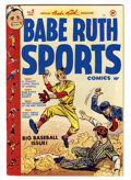 Golden Age (1938-1955):Miscellaneous, Babe Ruth Sports Comics #2 (Harvey, 1949) Condition: VF-....