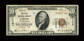National Bank Notes:Pennsylvania, Exeter, PA - $10 1929 Ty. 1 The First NB Ch. # 13177. ...
