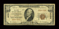 National Bank Notes:Maryland, Gaithersburg, MD - $10 1929 Ty. 1 The First NB Ch. # 4608. ...