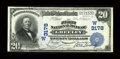 National Bank Notes:Colorado, Greeley, CO - $20 1902 Plain Back Fr. 650 The First NB Ch. #(W)3178. ...