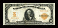 Large Size:Gold Certificates, Fr. 1169 $10 1907 Gold Certificate About New....