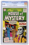 Silver Age (1956-1969):Horror, House of Mystery #54 Bethlehem pedigree (DC, 1956) CGC VF 8.0 Creamto off-white pages....