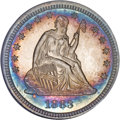 Proof Seated Quarters, 1883 25C PR67 NGC....