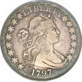 Early Half Dollars, 1797 50C VF25 PCGS. CAC....