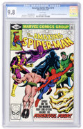 Modern Age (1980-Present):Superhero, The Amazing Spider-Man #214 (Marvel, 1981) CGC NM/MT 9.8 Whitepages....
