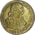 Colombia, Colombia: Ferdinand VII gold 8 Escudos 1809NR-JF 9/8,...