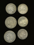 "German Lots, German Lots: Six from the ""states"":... (Total: 6 coins)"
