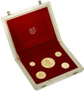 Colombia, Colombia: Republic gold Proof Set 1968,...
