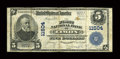 National Bank Notes:Colorado, Limon, CO - $5 1902 Plain Back Fr. 606 The First NB Ch. # 11504....