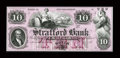 Obsoletes By State:New Hampshire, Dover, NH- Strafford Bank $10 UNL Special Proof. ...