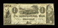 Canadian Currency: , Montreal, LC- The Agricultural Bank $1 Ch. 15-10-02. ...