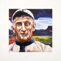 Baseball Collectibles:Others, Honus Wagner Hand Embellished Giclee Print....