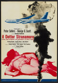 """Movie Posters:Comedy, Dr. Strangelove or: How I Learned to Stop Worrying and Love theBomb. (Columbia, 1964). Italian Photobustas (10) (18.5"""" X 26...(Total: 10 Items)"""