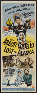 "Movie Posters:Comedy, Lost in Alaska (Universal International, 1952). Insert (14"" X 36""). Comedy...."