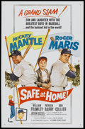 """Movie Posters:Sports, Safe at Home (Columbia, 1962). One Sheet (27"""" X 41""""). Sports...."""