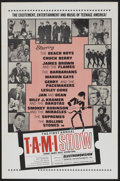 "Movie Posters:Rock and Roll, The T.A.M.I. Show (American International, 1964). One Sheet (27"" X41""). Rock and Roll...."