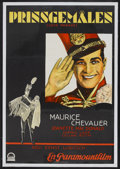 "Movie Posters:Comedy, The Love Parade (Paramount, 1929). Swedish One Sheet (27.5"" X39.5""). Comedy...."