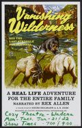 """Movie Posters:Documentary, Vanishing Wilderness Lot (Pacific International, 1974). Window Cards (7) (14"""" X 22"""") and Press Kit (Multiple Pages). Documen... (Total: 8 Items)"""