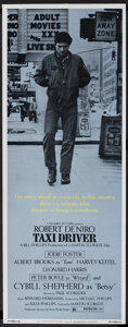 "Movie Posters:Crime, Taxi Driver (Columbia, 1976). Insert (14"" X 36""). Crime...."