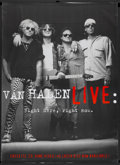 "Movie Posters:Rock and Roll, Van Halen Live: Right Here, Right Now (Warner Brothers, 1993).Video Poster (42"" X 58""). Rock and Roll...."