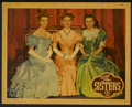 "Movie Posters:Drama, The Sisters (Warner Brothers, 1938). Lobby Cards (2) (11"" X 14"").Drama.... (Total: 2 Items)"