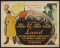 """Movie Posters:Mystery, Lured (United Artists, 1947). Title Lobby Card (11"""" X 14""""). Mystery...."""
