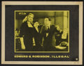 """Movie Posters:Crime, Illegal (Warner Brothers, 1955). Lobby Card Set of 8 (11"""" X 14""""). Crime.... (Total: 8 Items)"""