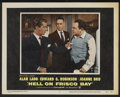 "Movie Posters:Crime, Hell on Frisco Bay (Warner Brothers, 1955). Lobby Card Set of 8(11"" X 14""). Crime.... (Total: 8 Items)"