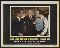 """Hell on Frisco Bay (Warner Brothers, 1955). Lobby Card Set of 8 (11"""" X 14""""). Crime.... (Total: 8 Items)"""