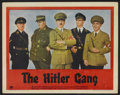 "Movie Posters:War, The Hitler Gang (Paramount, 1944). Lobby Cards (4) (11"" X 14"").War.... (Total: 4 Items)"
