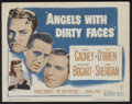 """Movie Posters:Crime, Angels With Dirty Faces (Warner Brothers, R-1948). Lobby Card Setof 8 (11"""" X 14""""). Crime.... (Total: 8 Items)"""