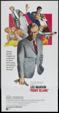 "Movie Posters:Crime, Point Blank (MGM, 1967). Three Sheet (41"" X 79""). Crime.. ..."
