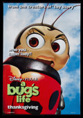 "Movie Posters:Animated, A Bug's Life (Buena Vista, 1998). Vinyl Banner (47"" X 68.5"") DS Francis/Heimlich Advance Style. Animated...."
