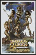 "Movie Posters:Adventure, Barbarian Queen (Cinema Group, 1985). One Sheet (27"" X 41"").Adventure...."