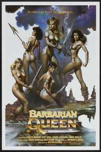 "Barbarian Queen (Cinema Group, 1985). One Sheet (27"" X 41""). Adventure"