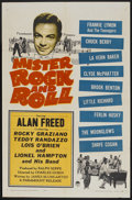 "Movie Posters:Rock and Roll, Mister Rock and Roll (Paramount, 1957). One Sheet (27"" X 41""). Rockand Roll...."