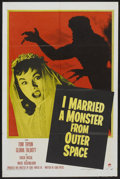 "Movie Posters:Science Fiction, I Married a Monster From Outer Space (Paramount, 1958). One Sheet(27"" X 41""). Science Fiction...."