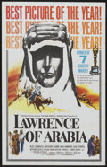 "Movie Posters:War, Lawrence of Arabia (Columbia, 1962). One Sheet (27"" X 41"") AcademyAward Style D. War Epic...."
