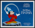 "Movie Posters:Animated, Fantasia (Buena Vista, R-1982). Lobby Card Set of 8 (11"" X 14""). Animated.... (Total: 8 Items)"